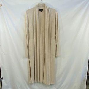 KAREN KANE Long Duster Open Cardigan Sweater  - M